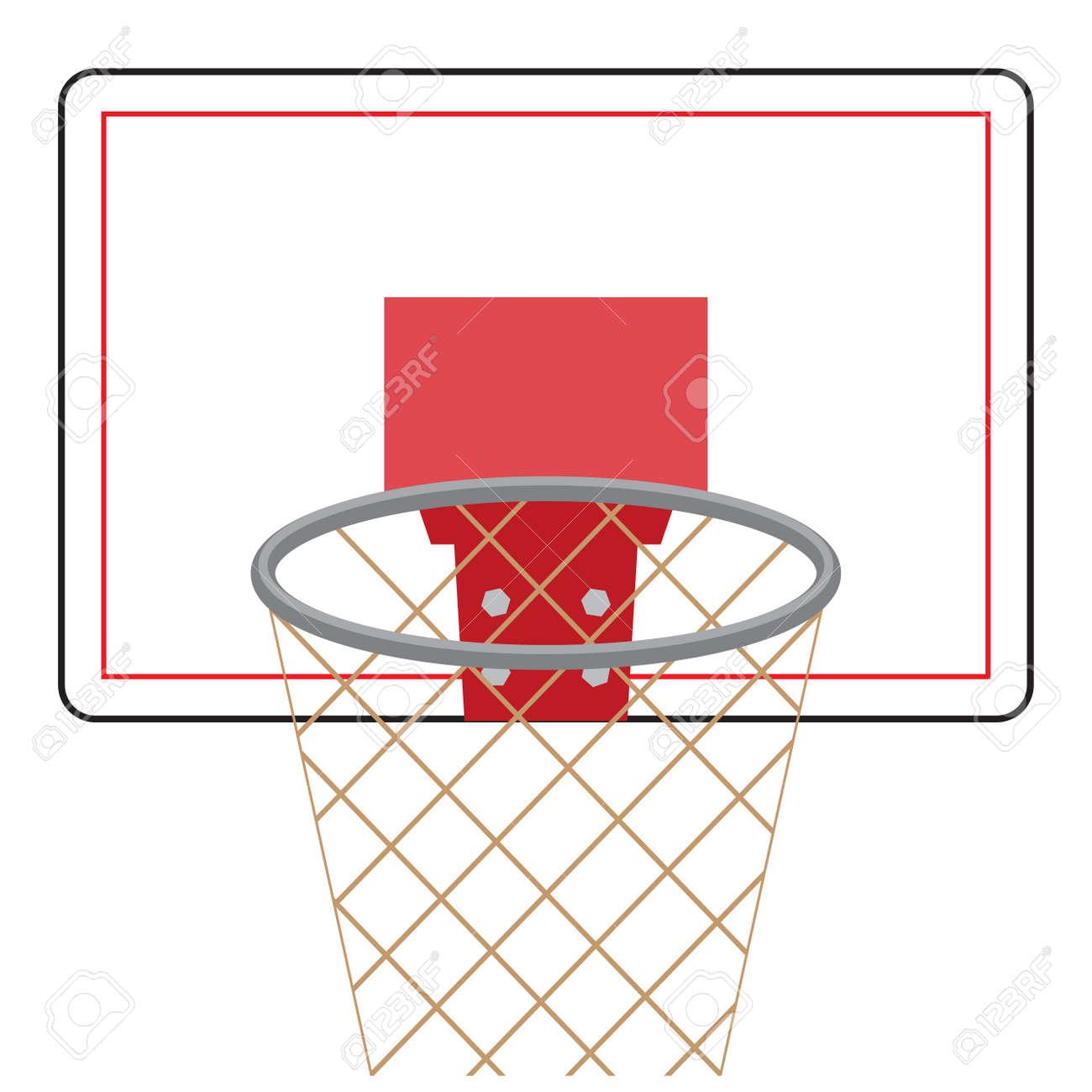 Basketball Board And Ring Basketball And Basketball Hoop