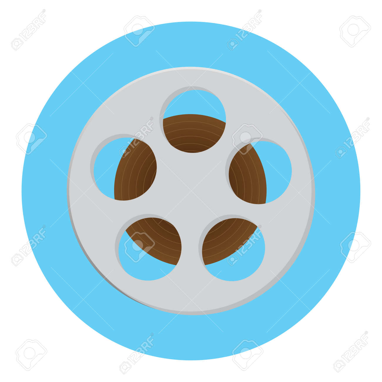 reel of film icon film strip and movie reel film roll and film rh 123rf com film icon vector free film icon vector png
