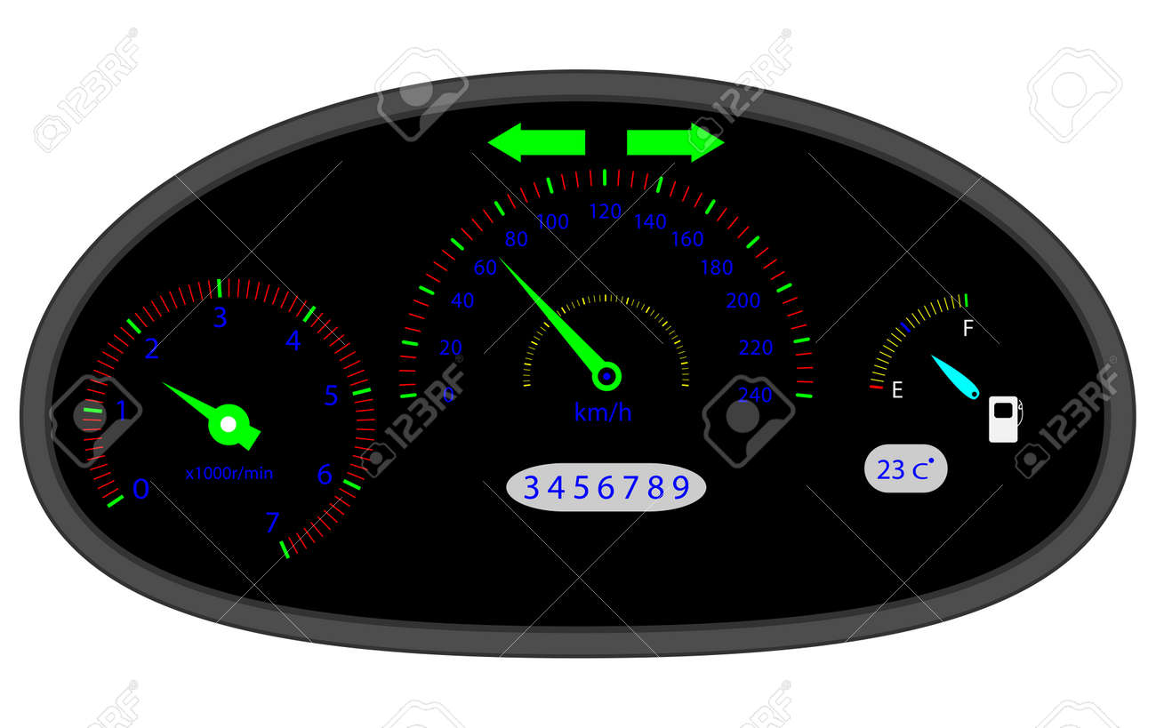 Car Dashboard Indicators Dashboard Icon And Car Dashboard - Car image sign of dashboardcar dashboard icons stock images royaltyfree imagesvectors