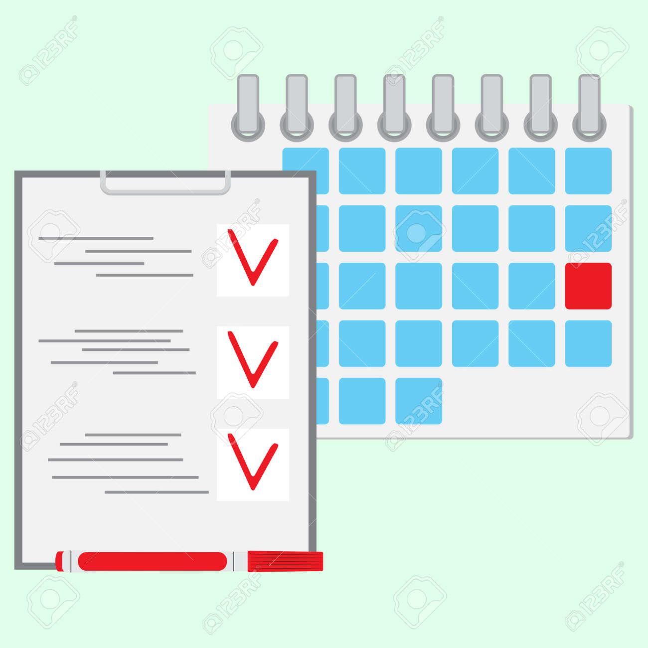 deadline of daily work concept calendar day daily calendar