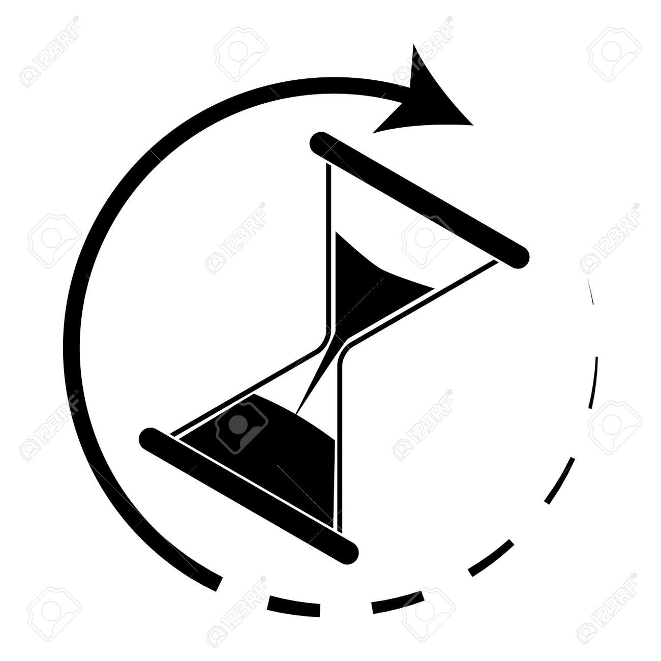 420 constantly stock vector illustration and royalty free hourglass monochrome hourglass icon and time running out vector illustration biocorpaavc Images