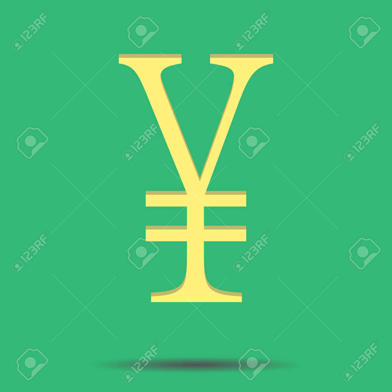 Sign of chinese yuan chinese currency renminbi and chinese sign of chinese yuan chinese currency renminbi and chinese money vector illustration stock biocorpaavc