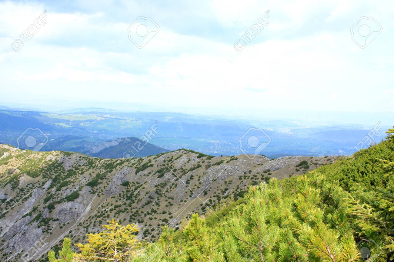 The beautiful mountain in Poland Stock Photo - 11792202
