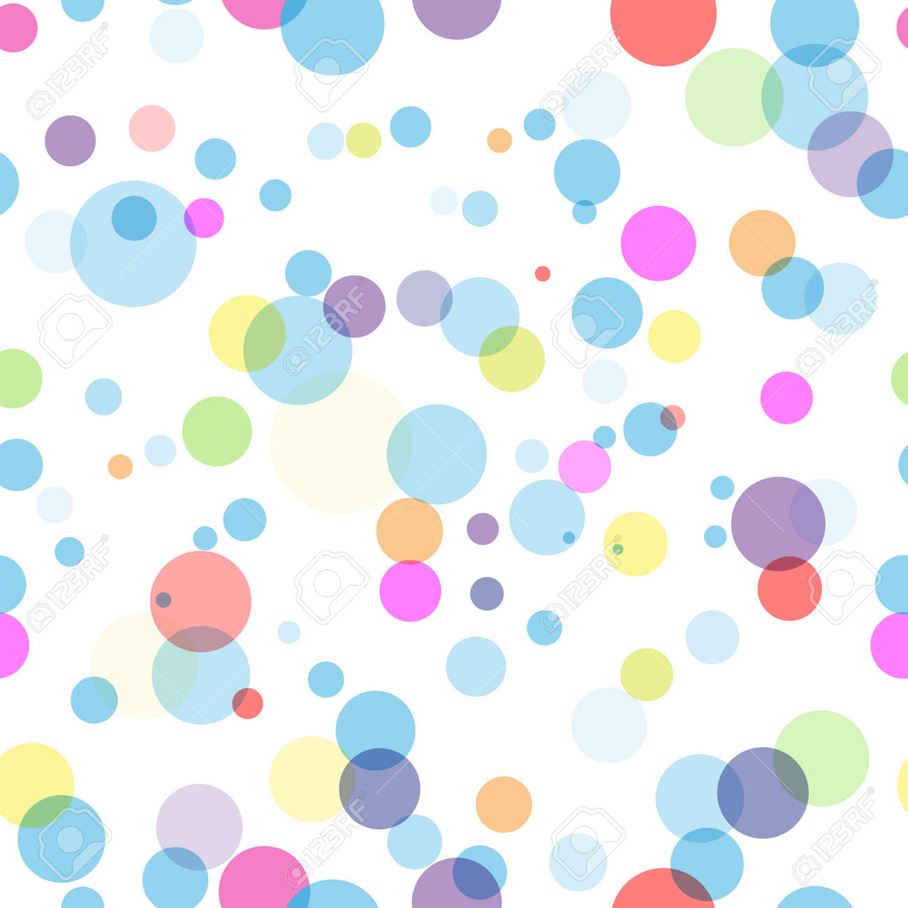 Abstract transparent seamless background Stock Vector - 15013454