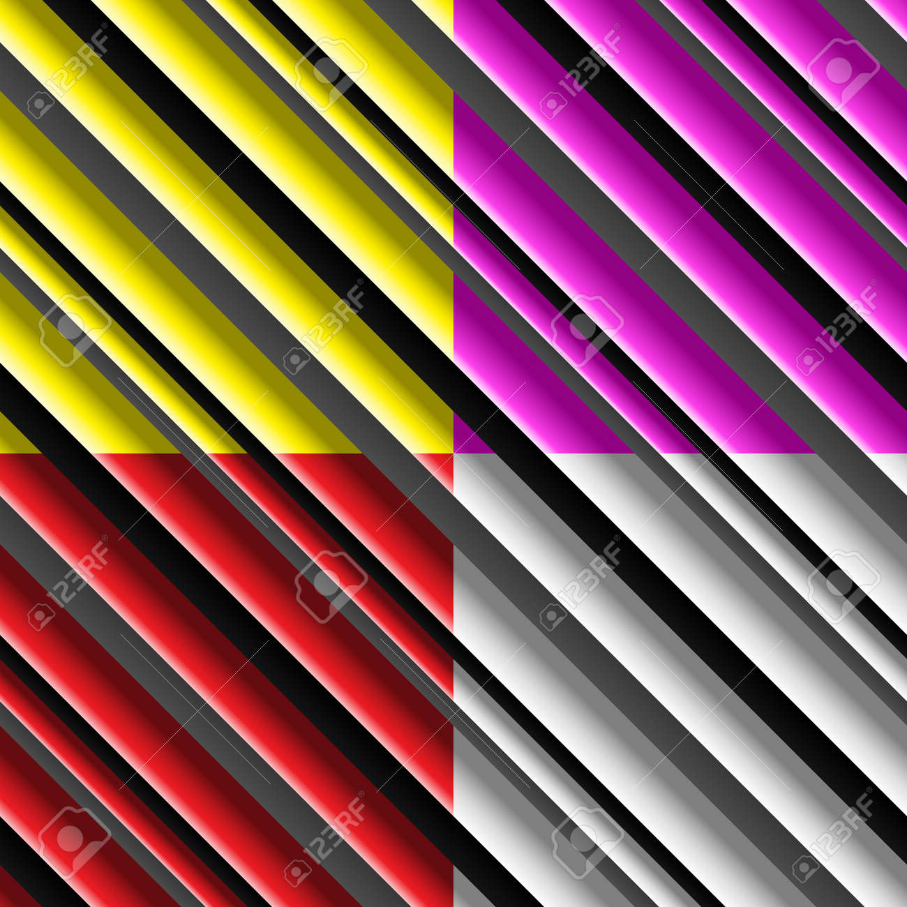 Color set of urban seamless patterns, Stock Vector - 15405440