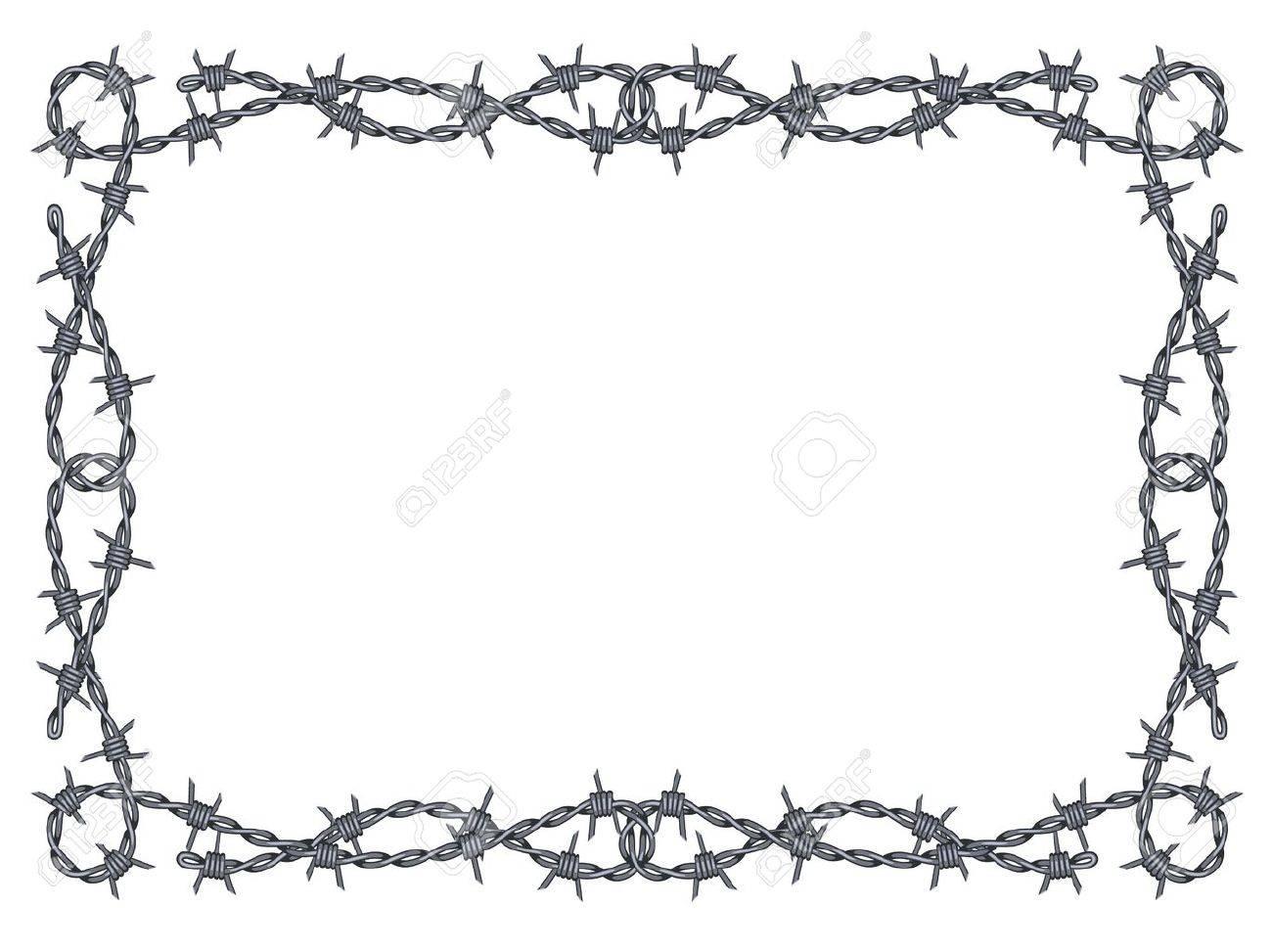 Berühmt Razor Wire Border Galerie - Der Schaltplan - triangre.info