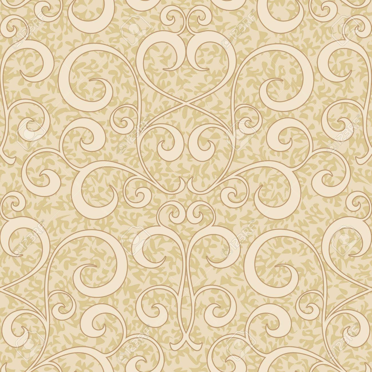 Beige Swirl Background