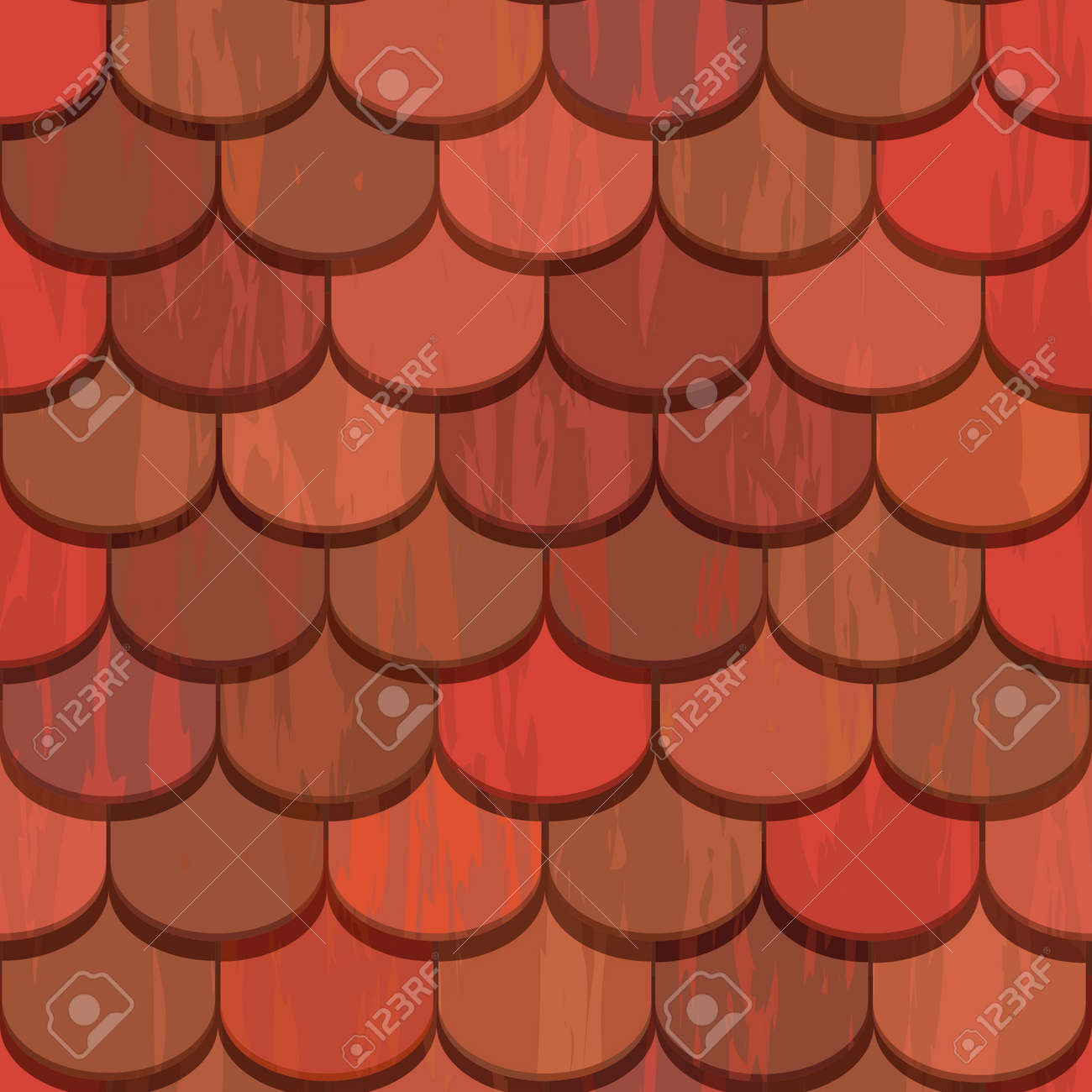 Red clay ceramic roof tiles seamless texture royalty free cliparts red clay ceramic roof tiles seamless texture stock vector 13551603 dailygadgetfo Images