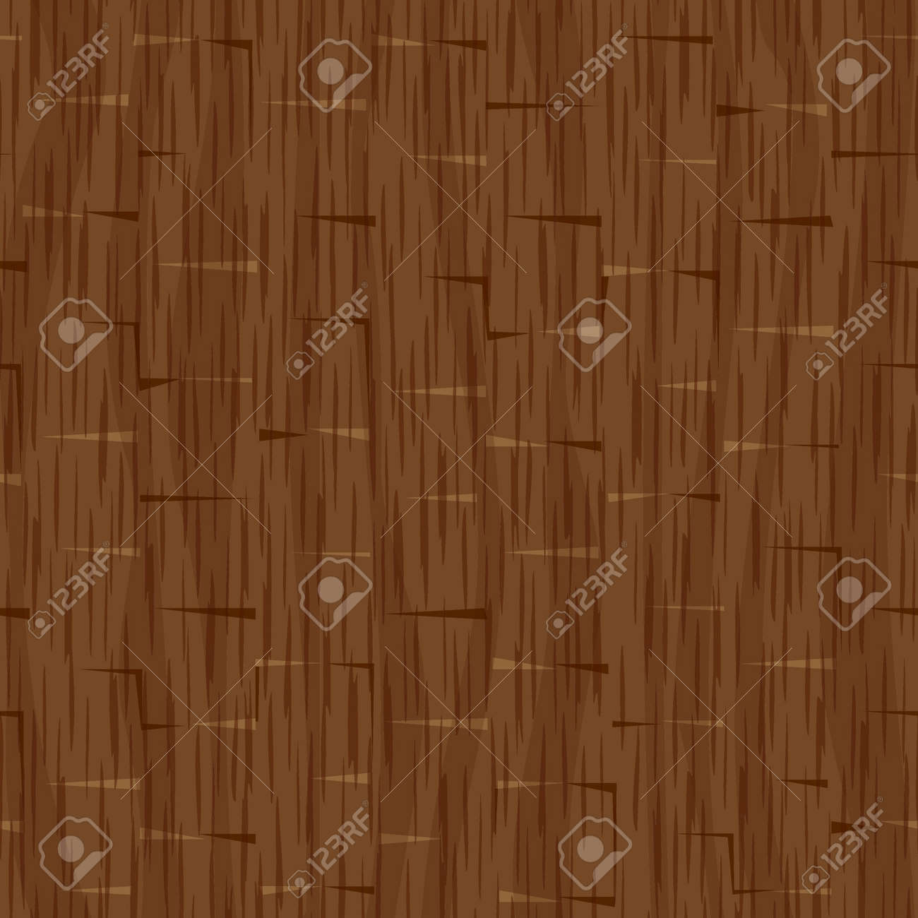 Seamless Wood Panel Wall Texture Background Stock Vector