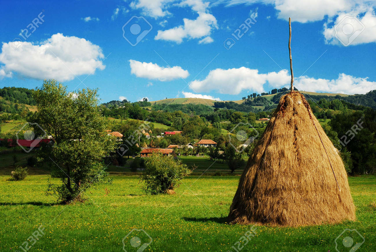 countryside landscape Stock Photo - 7633314