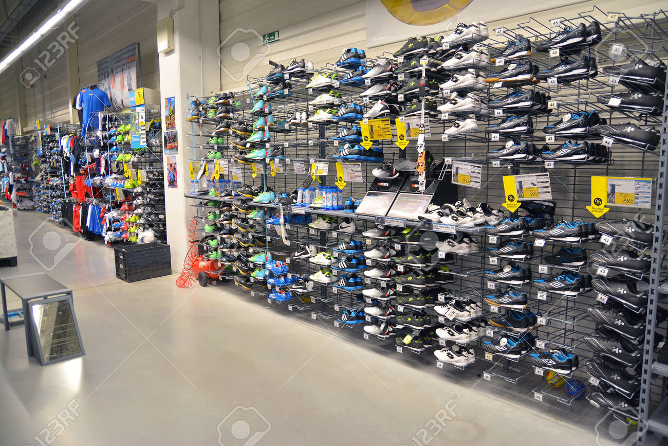 May 8th: Sport Shoes Department