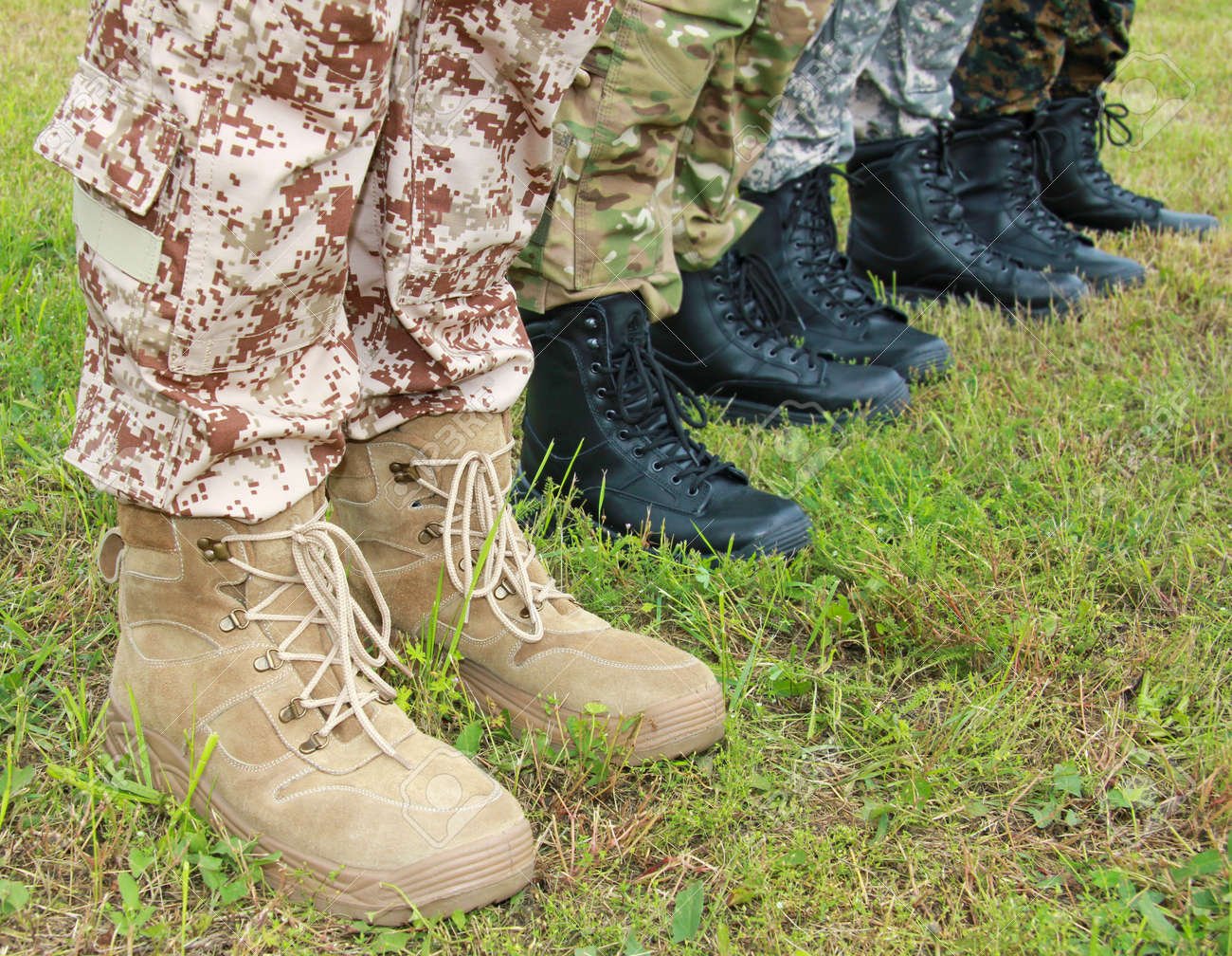 Army, Military Boots - 21045799