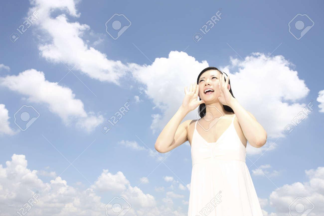 Woman yelling Stock Photo - 4197399
