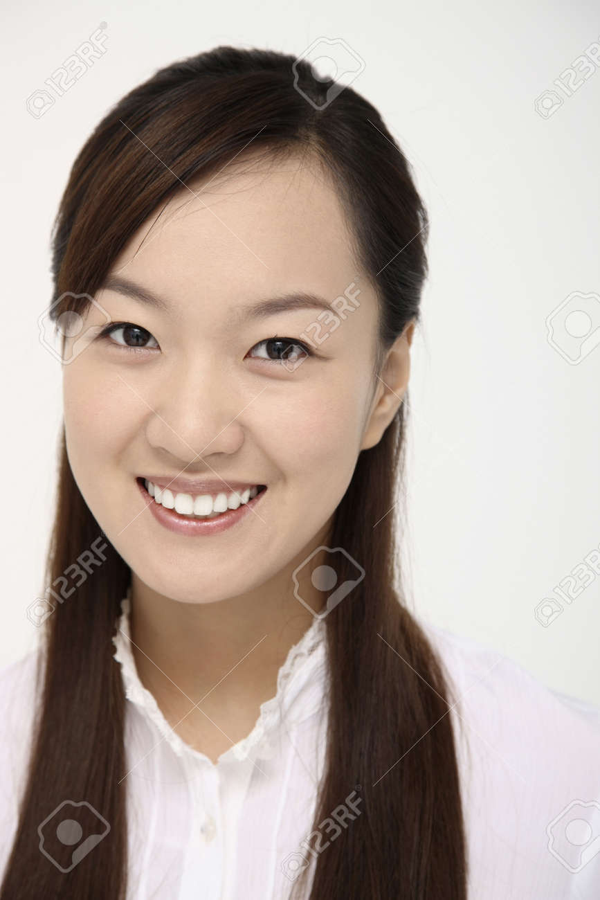 Woman smiling Stock Photo - 4630353