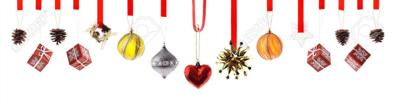 Assorted high resolution Christmas decorations and ornaments isolated on  white Stock Photo - 9946929 - Assorted High Resolution Christmas Decorations And Ornaments.. Stock