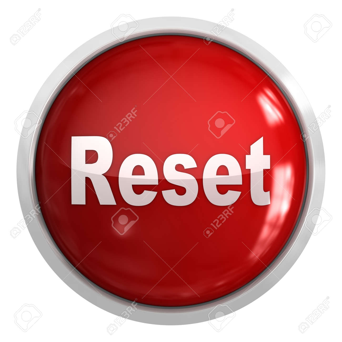 reset button this is a computer generated and 3d rendered picture