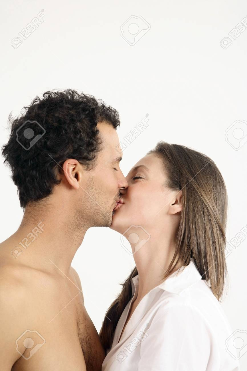 Man and woman kissing Stock Photo - 2966269