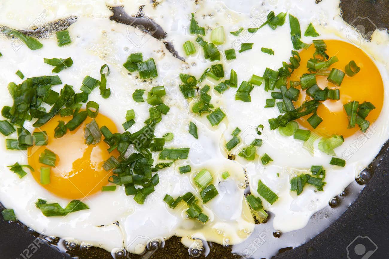 Fried eggs Stock Photo - 10272532