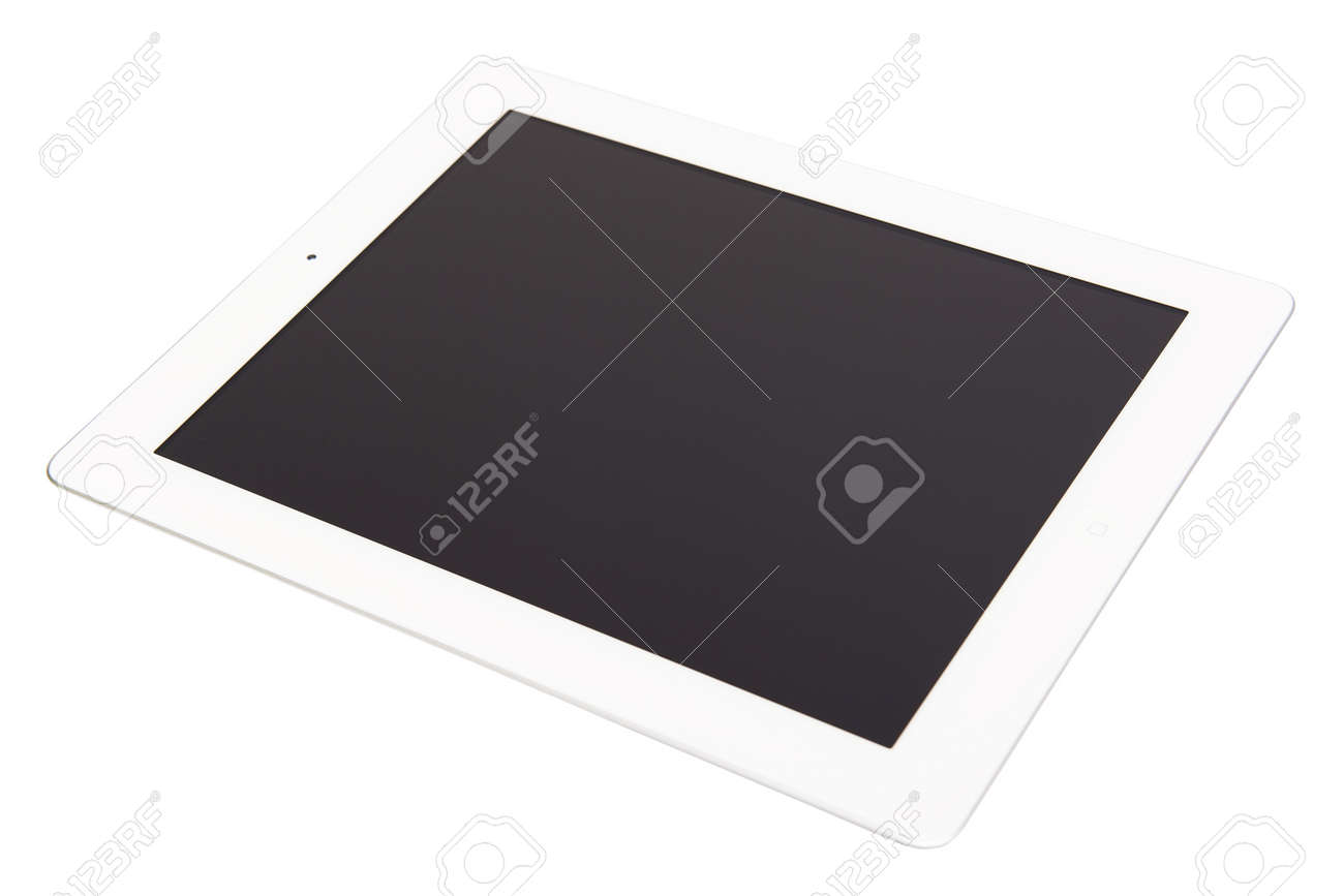 White tablet Stock Photo - 10707143