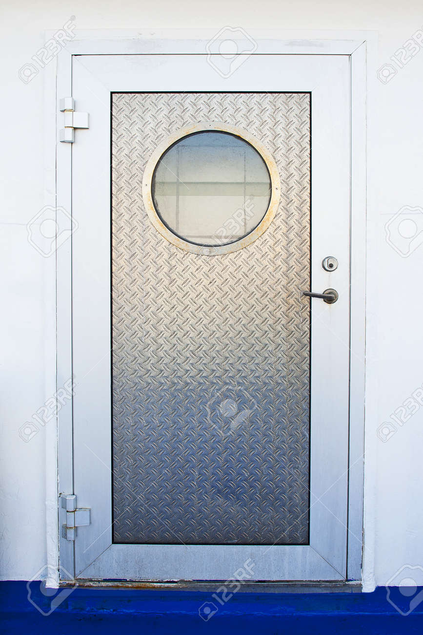 Door with porthole Stock Photo - 12499163 & Door With Porthole Stock Photo Picture And Royalty Free Image ...