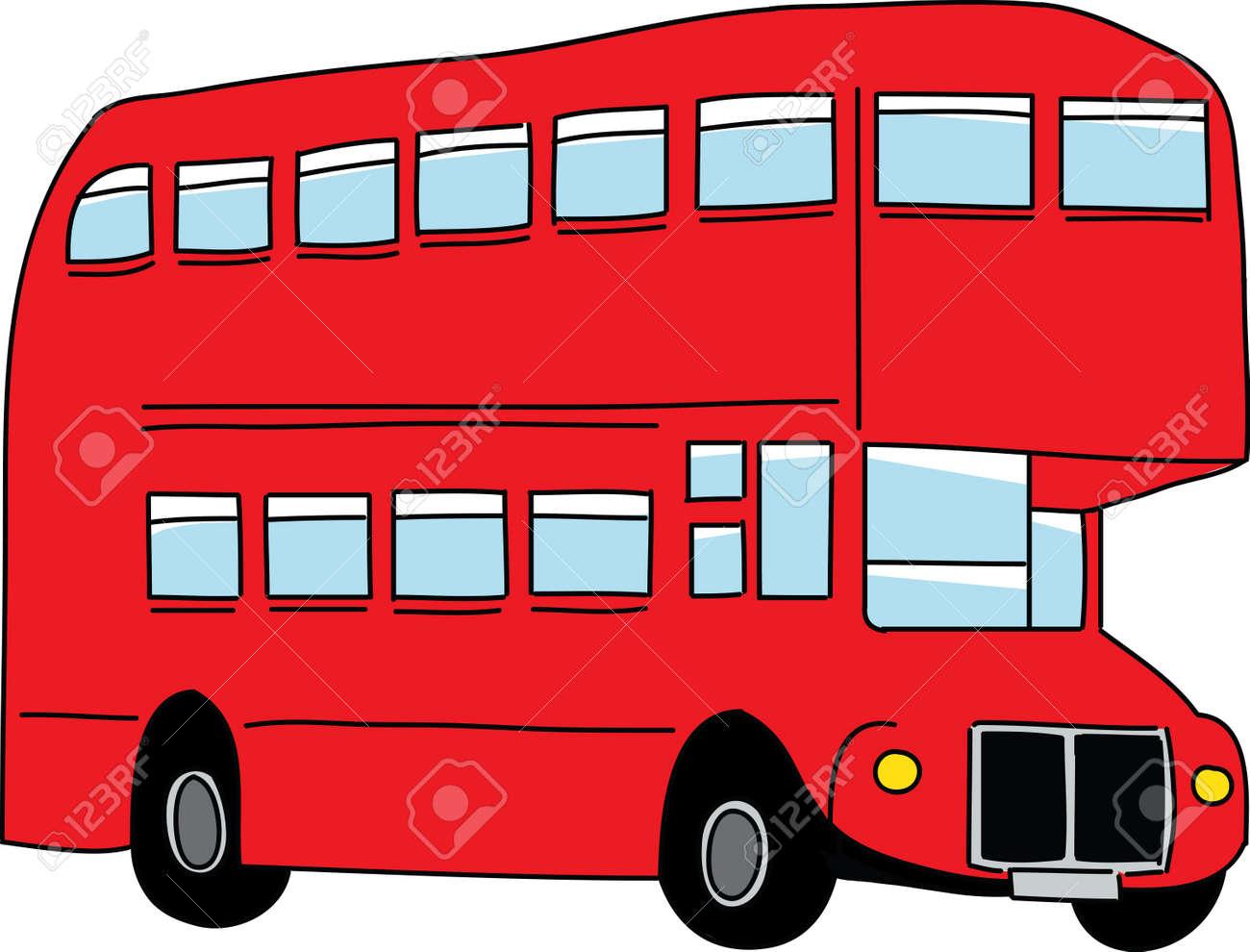London bus  Vector illustration Stock Vector - 13039430