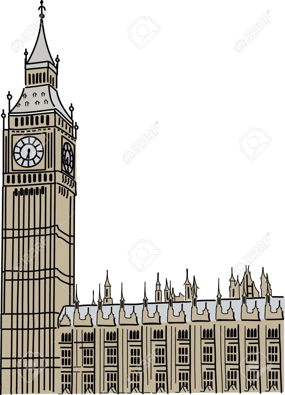 big ben in london royalty free cliparts vectors and stock rh 123rf com big ben clipart images big ben clock clipart