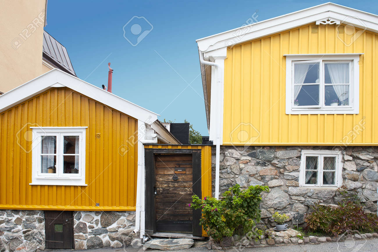 scandinavian architecture stock photo, picture and royalty free