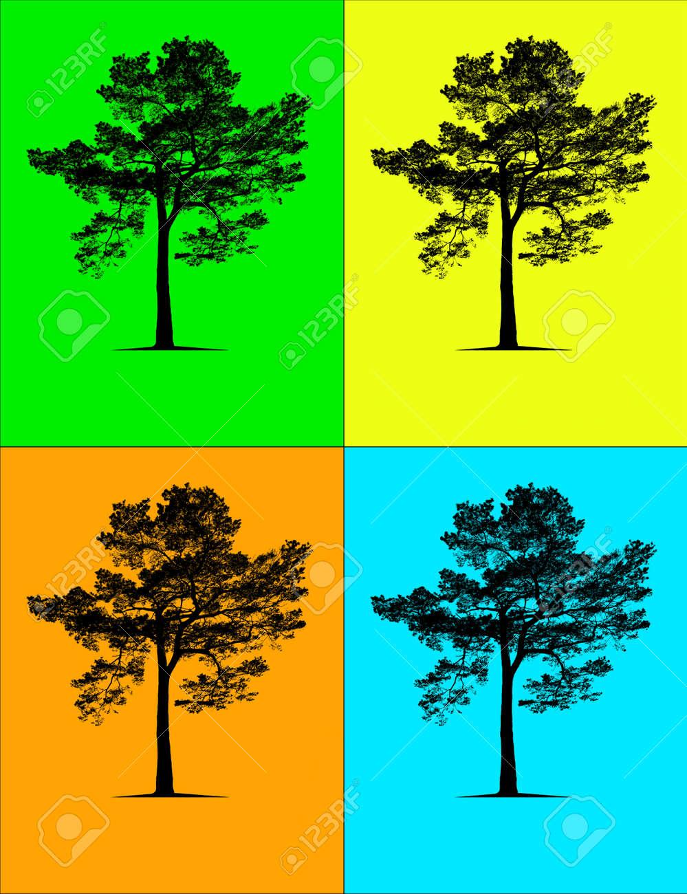 Four seasons Stock Photo - 14811328