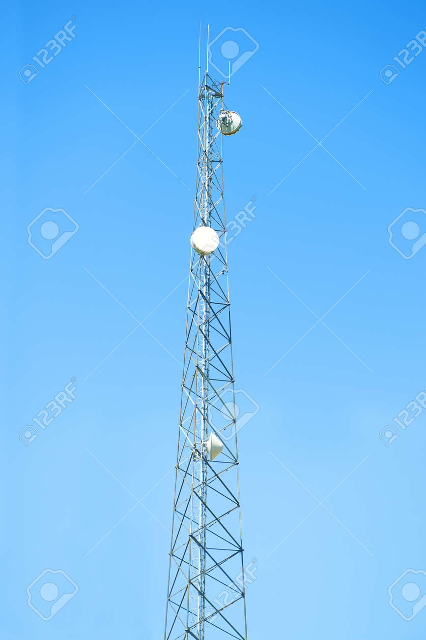 Cell phone antenna tower