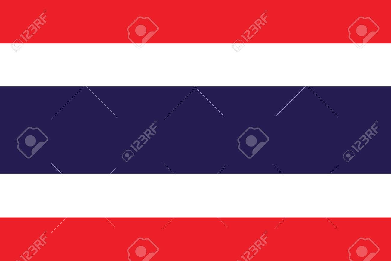 Flag of Thailand Stock Vector - 16159678