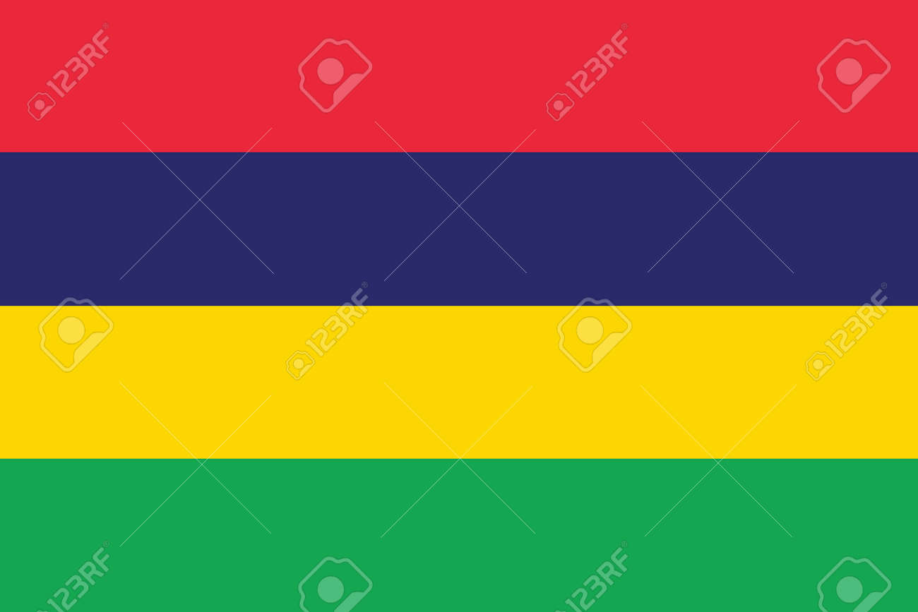 Flag of Mauritius Stock Vector - 16252363