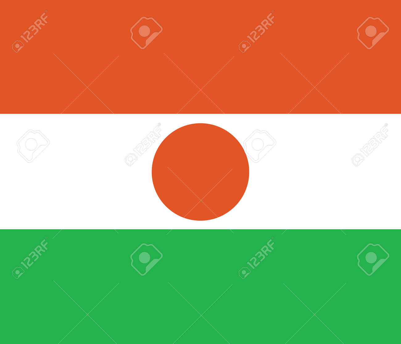 Flag of Niger Stock Vector - 16252401