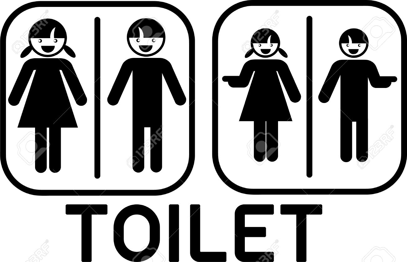 cute toilet sign  Cute Toilet Sign Royalty Free Cliparts Vectors And Stock. Toilet Sign Cute