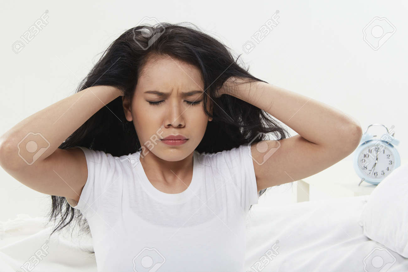 Woman covering her ears Stock Photo - 22654328