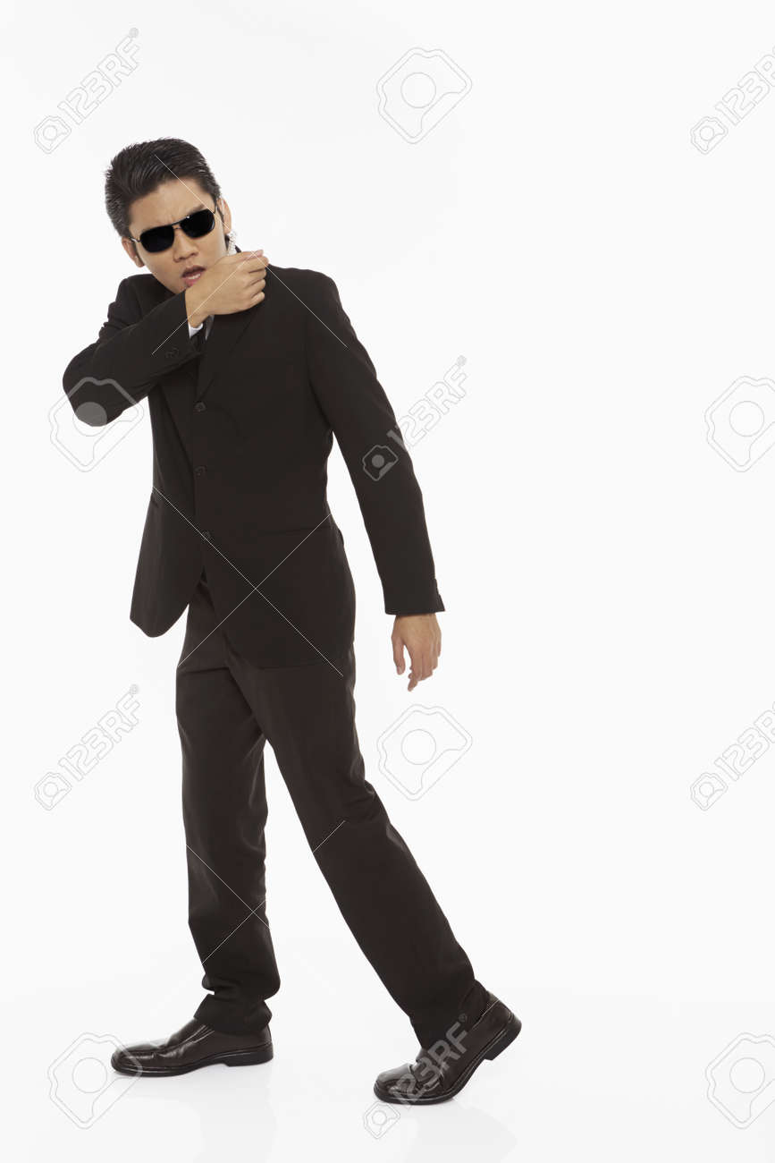 Security staff at work Stock Photo - 22837174