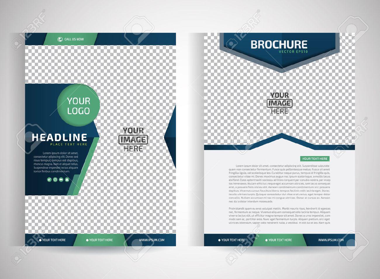 Abstract Vector Modernen Flyer Broschüre / Geschäftsbericht / Design ...