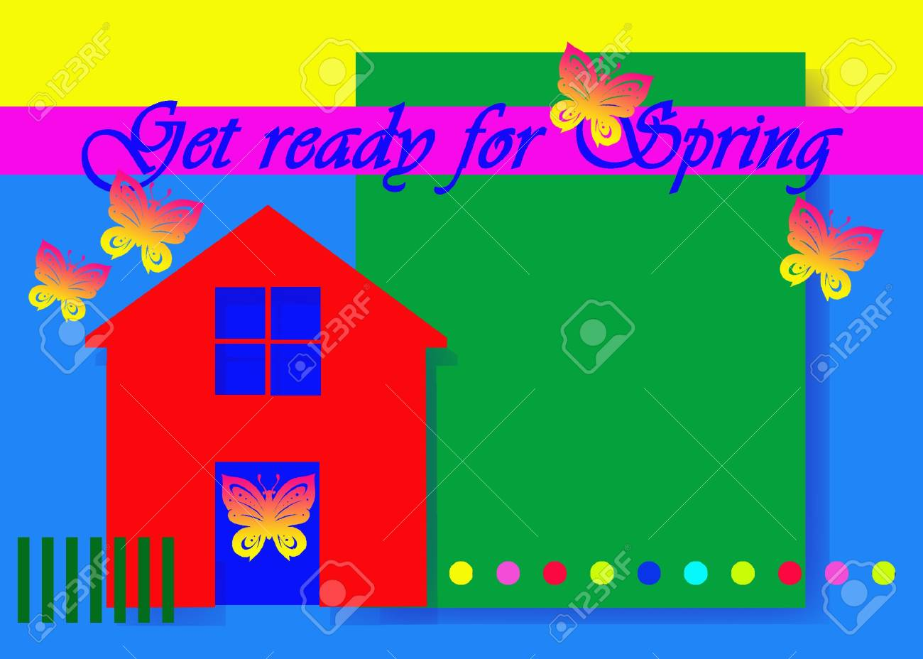 Bring your house into spring Stock Photo - 6300484