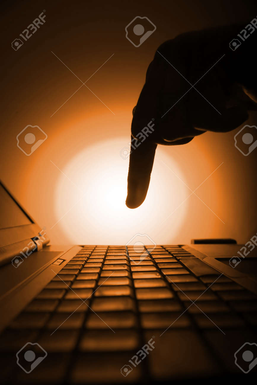 business be aware of hacking and crime Stock Photo - 10835884