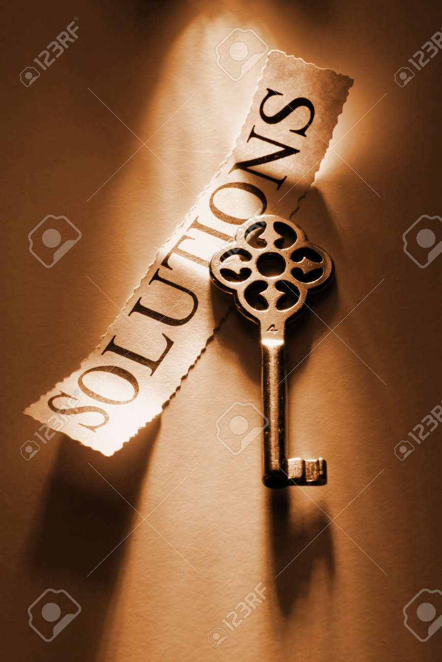Key to solutions Stock Photo - 14283990
