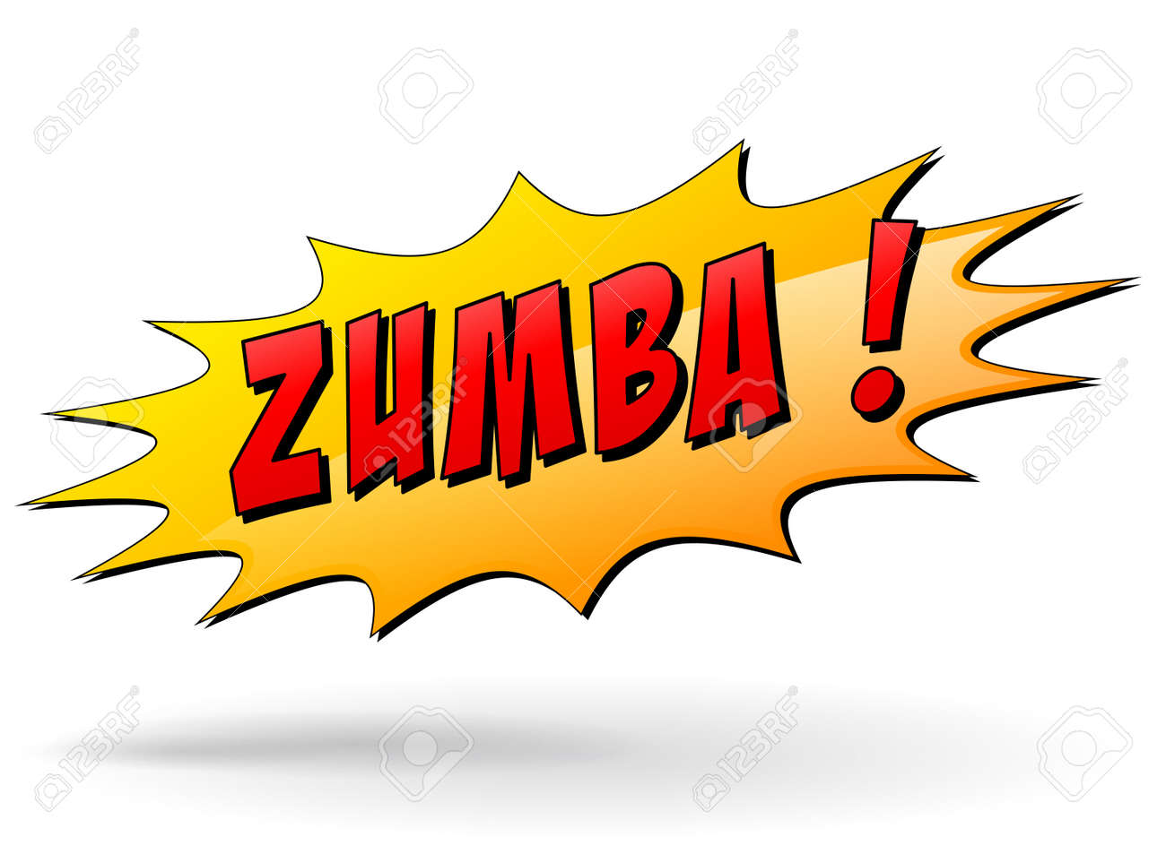 vector illustration of zumba starburst icon concept royalty free rh 123rf com zumba free vector zumba logo vector download