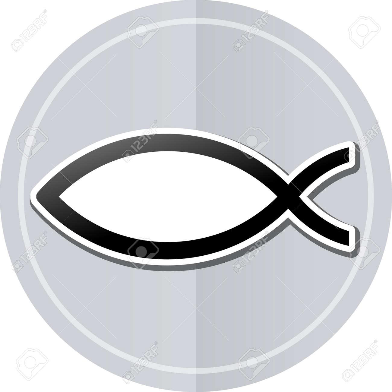 Illustration of jesus sticker icon simple design stock vector 39757797