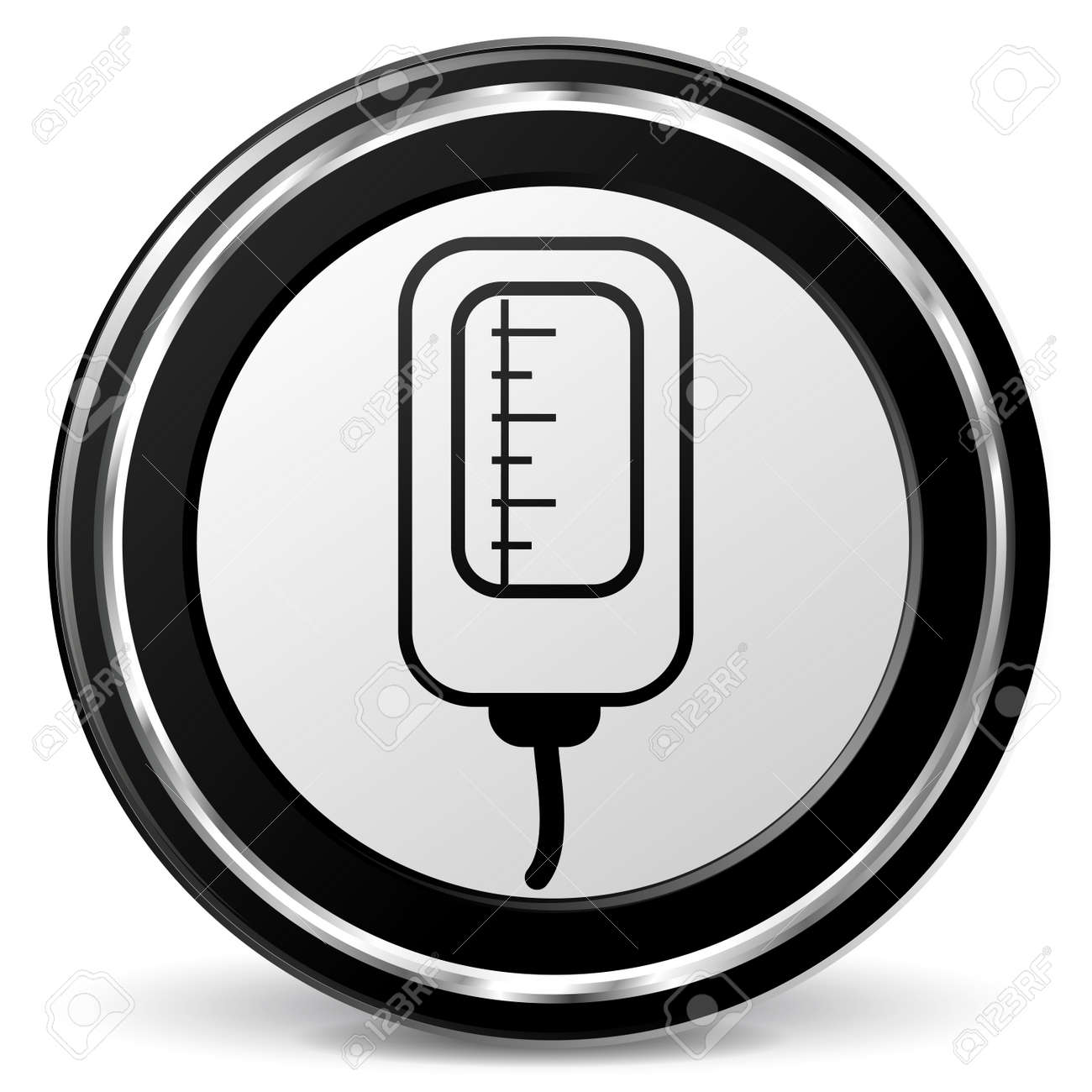 illustration of catheter black and gray icon royalty free cliparts rh 123rf com