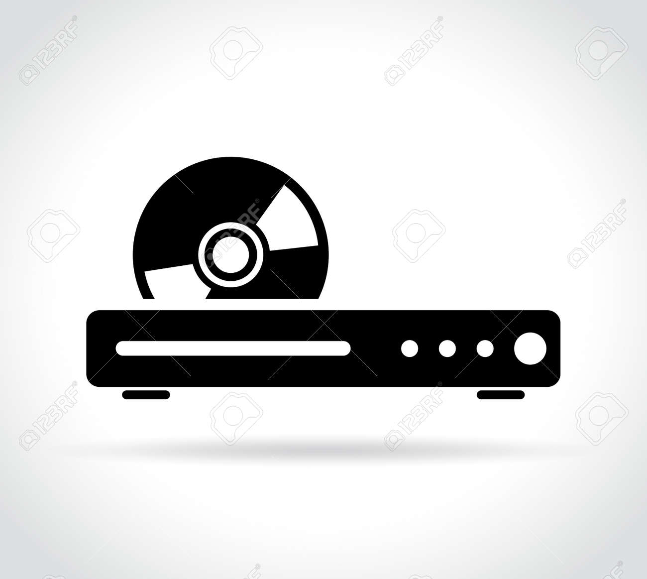 illustration of blue ray or dvd player icon royalty free cliparts vectors and stock illustration image 83753863 illustration of blue ray or dvd player icon