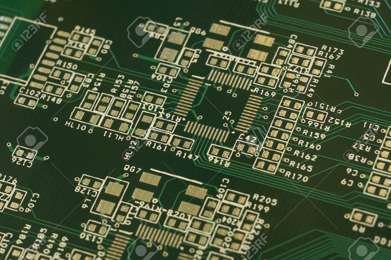 Multilayer Printed Circuit Board Moscow Russia 4 December Stock Circuits 2016 Photo 67532723
