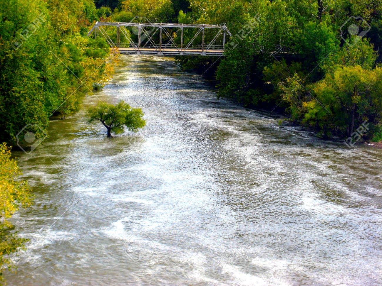 Fall River in Southeast Kansas in 6