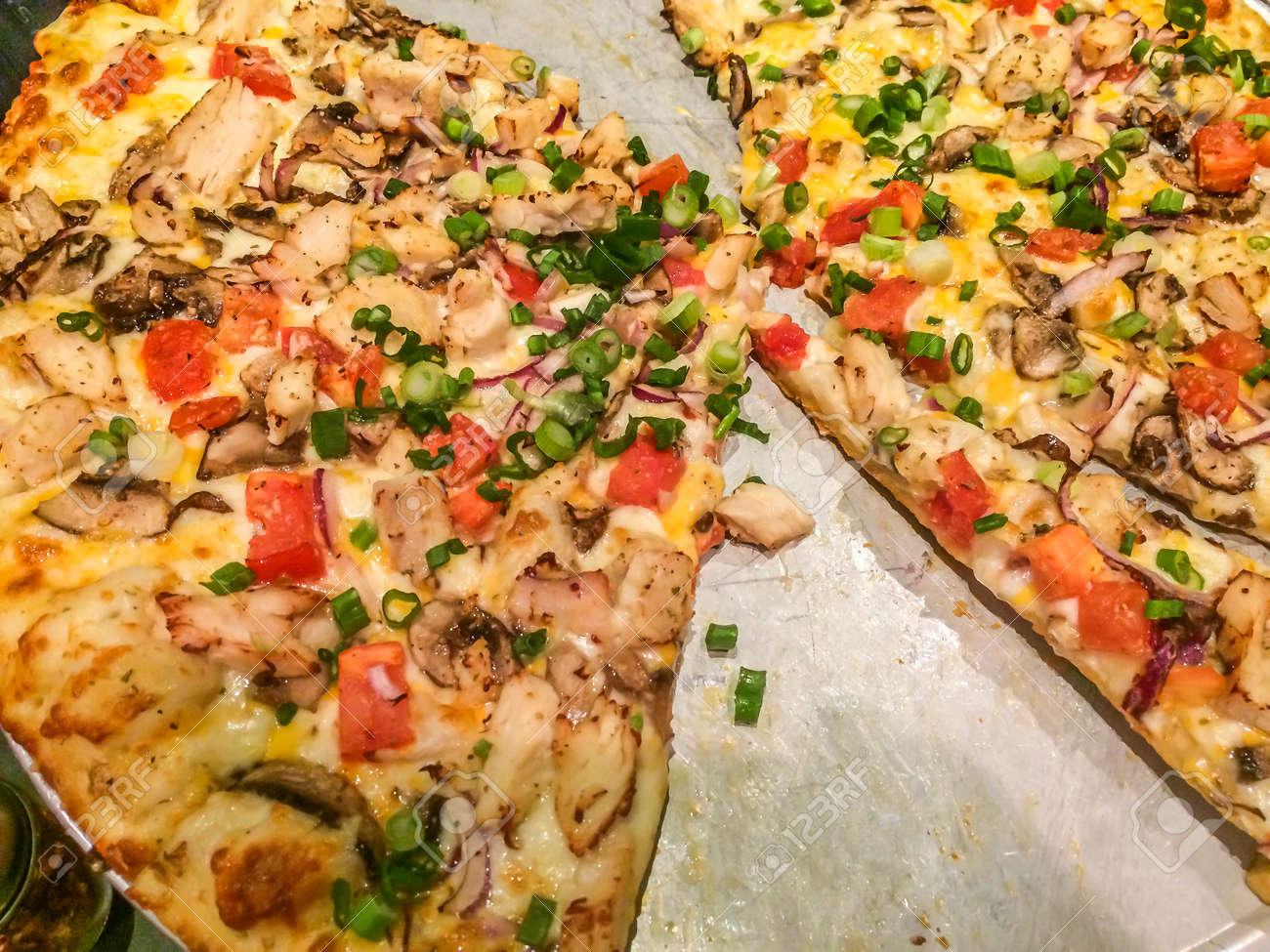 Vegetables Pizza, Baker, Italian Dish, Italian Food, Stock Photo ...