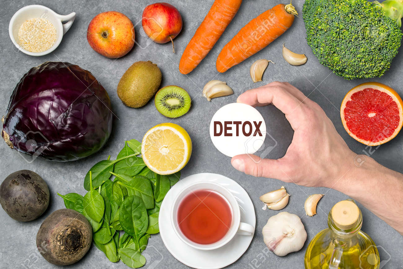Food for detoxification  Detox food purify body of toxins, have