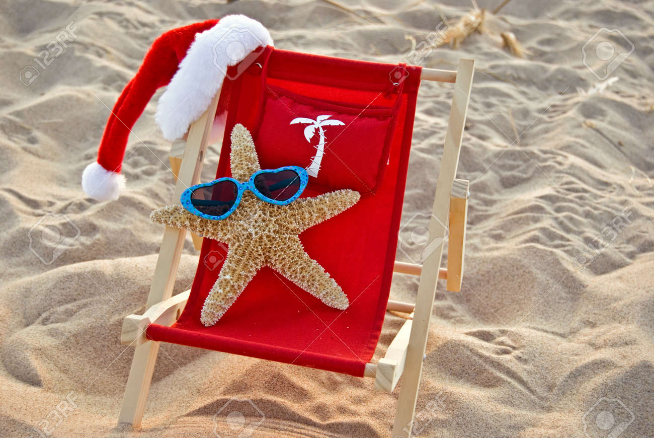 Miraculous Santa Starfish Lounging In A Beach Chair Ocoug Best Dining Table And Chair Ideas Images Ocougorg