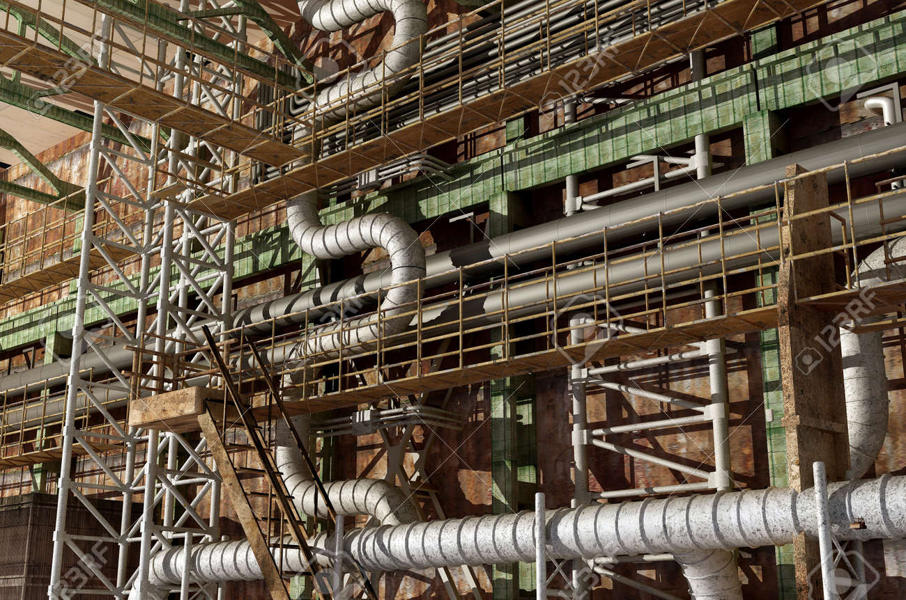 The interior of the plant. Stock Photo - 20118944