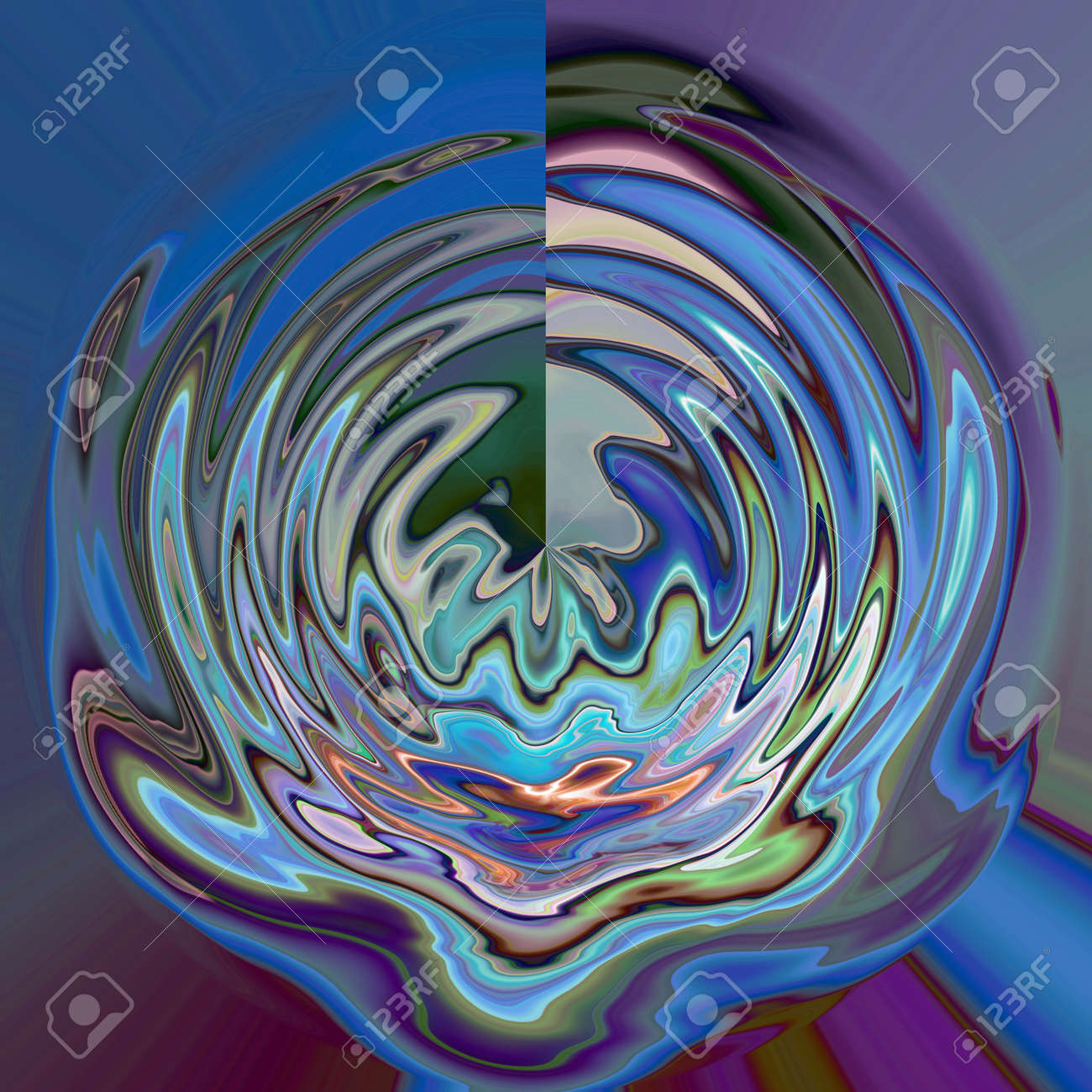 Abstract Coloring Background Of The Horizon Gradient With Visual ...